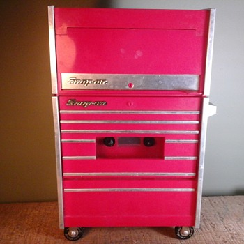 Snap-On Cassette Player / Radio  - Advertising