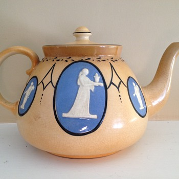 Art Deco or Art Nouveau Mystery Teapot - Kitchen