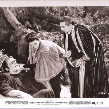 (1948) Abbott and Costello meet Frankenstein Movie still - Movies