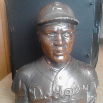 Jackie Robinson Piggy Bank 