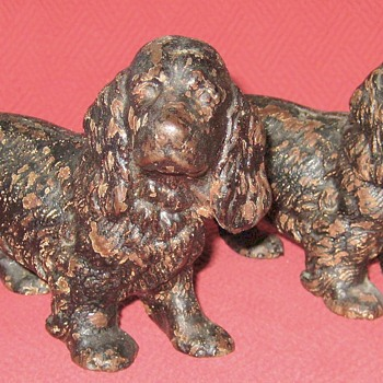 Hubley #427  Cocker Spaniel Bookends
