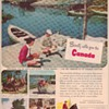 1950 Canada Travel Bureau Advertisement