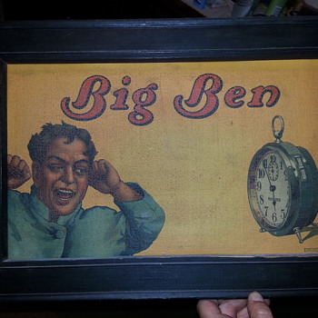 Vintage Big Ben Alarm Clock Advertisement