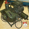 WWII backpack DC generator