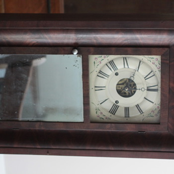 "pre 1850 Seth Thomas ""Ogee"" Clock in Great Condition"