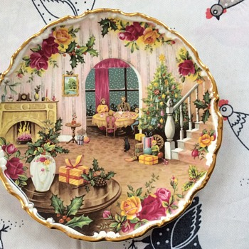 Royal Albert Christmas plate