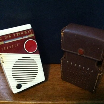 Trancel Transistor Radio Model T-7 (1958?) - Radios