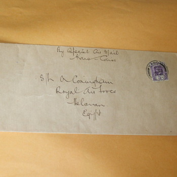 1925 First Day Covers.....Kano to Cairo