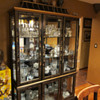 One Display case - clear glass