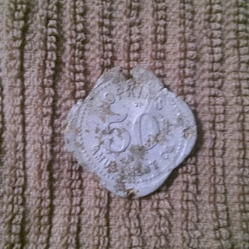 Hopkins Amusement Co. 50 Cent Token