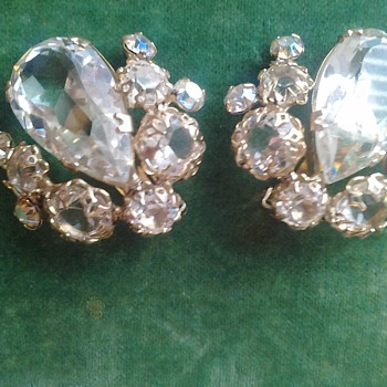 Schreiner Earrings - Costume Jewelry