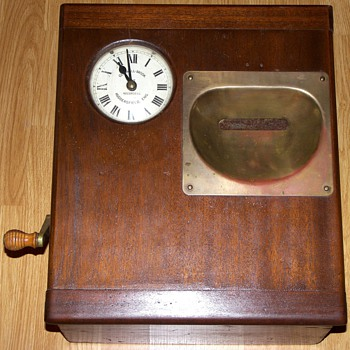 Gledhill-Brook English Factory Clock