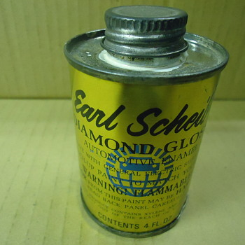 Earl Sheib automotive touch up paint can