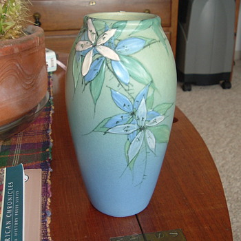 "My Favorite Weller Vase marked TS and 7"" high. - Art Pottery"