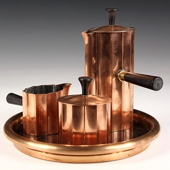 Chase Diplomat Coffee Service - Art Deco