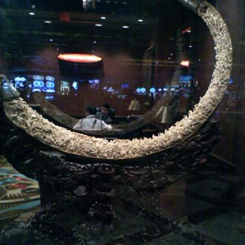 Wooly Mammoth Tusk Carving at Ti Hotel in Las Vegas, NV - Asian