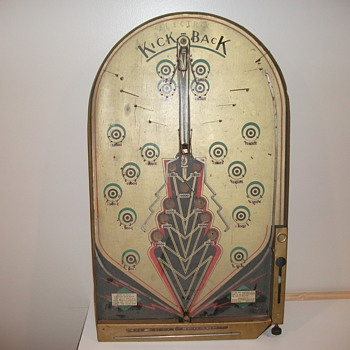 early electric pinball machine