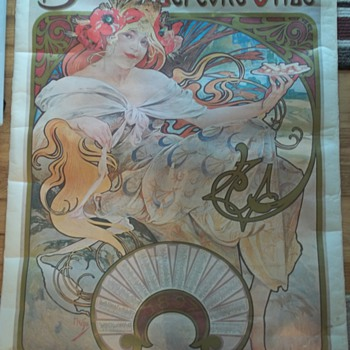 Alphonse Mucha Poster