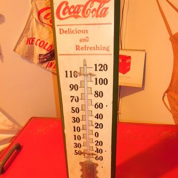 1905-1910 Coca-Cola Thermometer - Coca-Cola