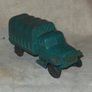 Auburn Army Truck Pine Green 1950s - Model Cars