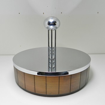 EERO SAARINEN General Motors Tech Center Box - 1950's - Tobacciana