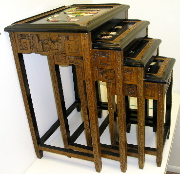 Asian nesting tables
