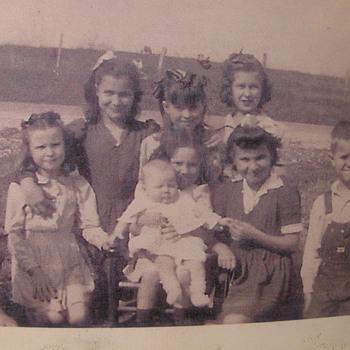 1952 family photo - Photographs
