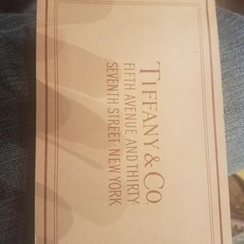 Tiffany and Company Catalog of sorts, very old!