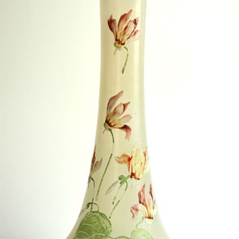 french legras montjoye enameled vase