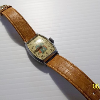 1939 Superman Wrist Watch