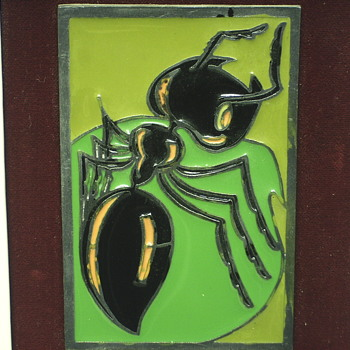 "PELTRO- CESELLATO A MANO""ANT,,XXCentury""03415 - Visual Art"