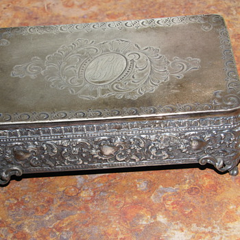 Barbour Silver Co Trinket Box - Sterling Silver