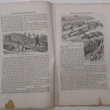4 Issues of Hutchings California Illustrated Magazine - Paper