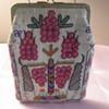 ART DECO Needle point purse vibrant