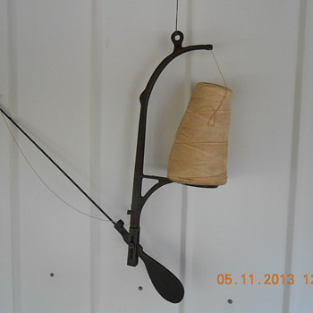 Wall or ceiling mount string holder Odd but Very Nice - Tools and Hardware
