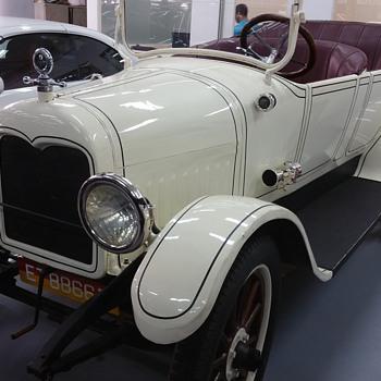 An old Morris car