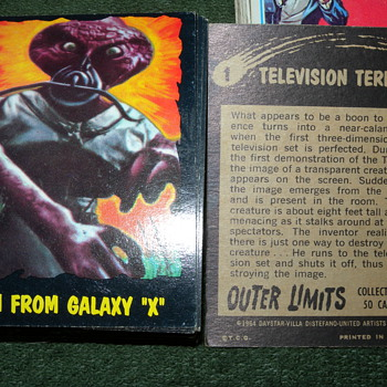 1964 Outer Limits O-Pee-Chee (Topps) Trading Cards  - Cards