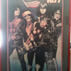 1976 Mint autograpghed framed poster