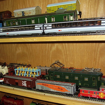 Some famous Marklin passenger HO cars.