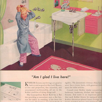 1950 Kohler Advertisement