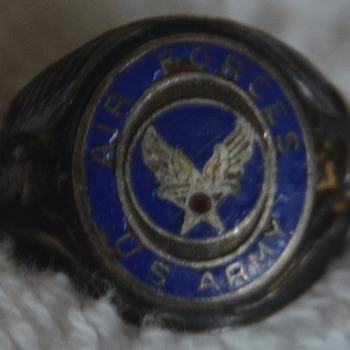 U.S. Air Force Ring - Military and Wartime