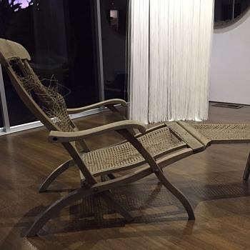 Titanic era Deck Chair