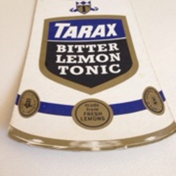 Tarax & Dixi Cola Drink Sign