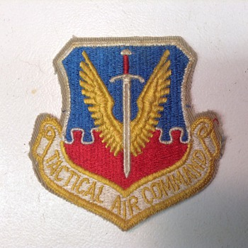 Tactical Air Command Patch