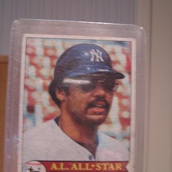 1979 Topps Reggie Jackson - Baseball