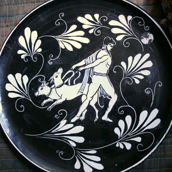 Italian  Art Plate