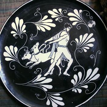 Italian  Art Plate - Pottery