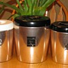 Vintage West Bend Copper Kitchen Canisters