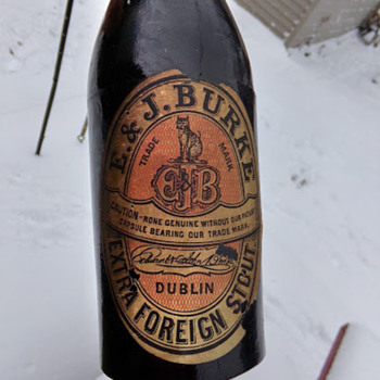 Early Guinness Export Bottle