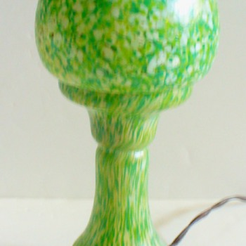 RUCKL CZECH LAMP - Art Glass
